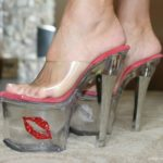 Previous to I met and married my hubby, I used to dance in shoes like…