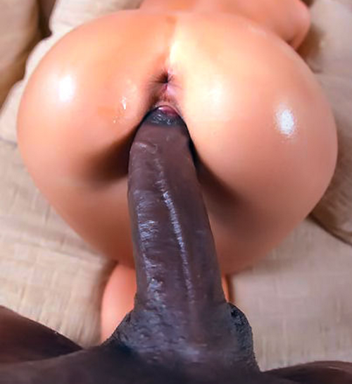 Love Seeing Her Vagina Stretch To Take His Large Black Wang