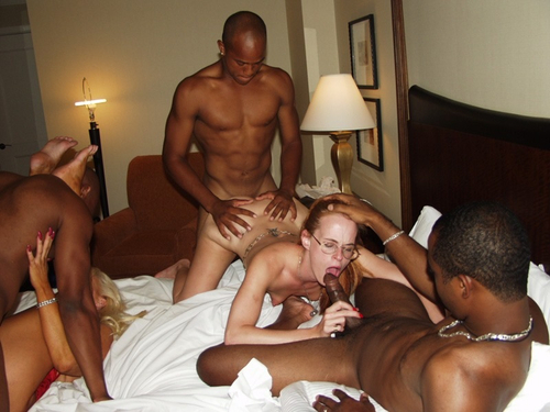 Black men bang my milf