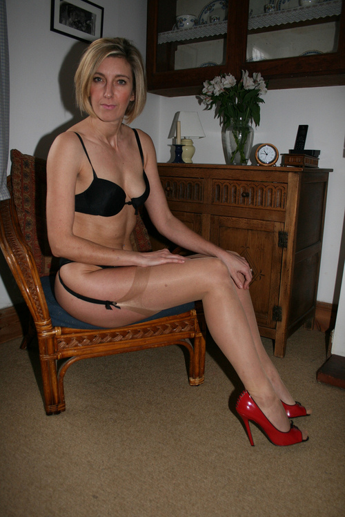 Wives in nylons Doris Ivy