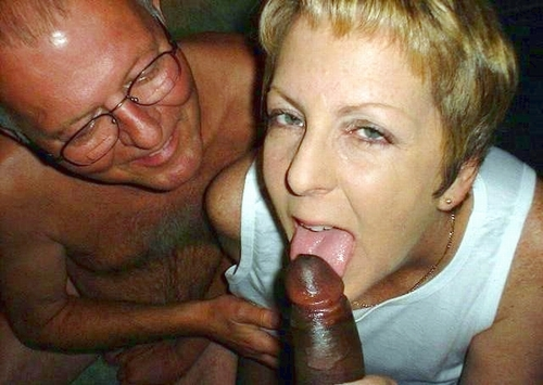 Can husband sucks black cock with wife really