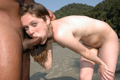 wife in vacation