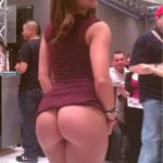 Now THAT IS a booth playgirl doing her job! And if she's…