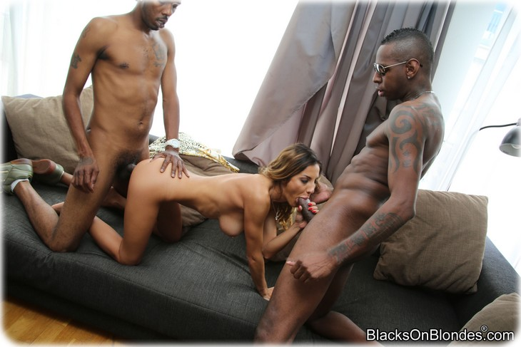 image Alice got black cock for her to sucked