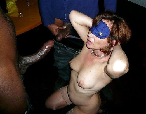 at party wife Drunk swinger