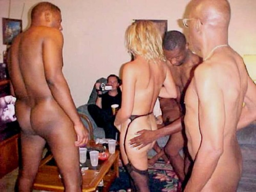 my girlfriend went to a sex party