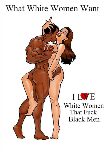 White woman that love black man
