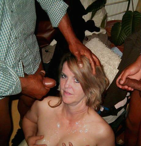 wife bukkake mature Amateur images