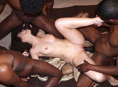Big black by cock fucked gang land victim