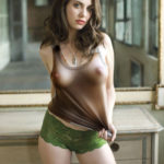 twolovingone: Georgeous! I love the color of her nipples as…