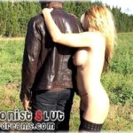 My  dirty slut wife had fun outdoors with one of her dark paramour