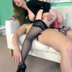 femdomsexslaves: femdomsexslaves: His slut wife can't live out of the tease of…