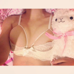 pinkkittenprincess: Damn this bra is cute Someone's a lucky…