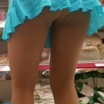 hotwifespantyhose: Even grocery shopping can be fun when I'm…