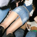 upskirtbabes6:Up her skirt on the dance floor …