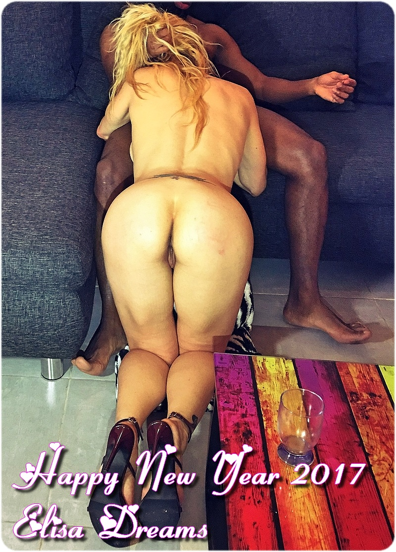 Happy Fresh Year 2017 with my Slut