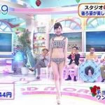 Japanese morning TV show holds sexy swimsuit fashion show