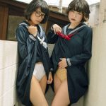 Recreating Showa-era Japanese gravure erotic photo shoots